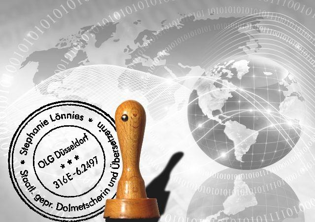 Beglaubigte Übersetzung mit Sicherheit von SL·Translations - Dieser Stempel erfährt weltweit Anerkennung. Das richtige Übersetzungsbüro für die Übersetzung Ihrer Urkunden!