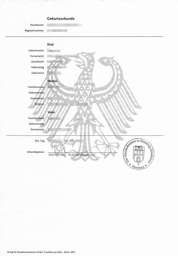 Polnische Geburtsurkunde Beantragen Unterlagen 0